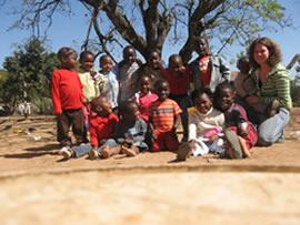 Klassenfoto Kindergarten Südafrika