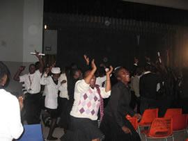 Jugendgruppe Südafrika